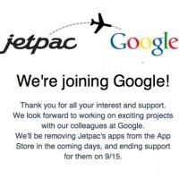 Google compra Jetpac azienda creatrice di City Guides e Spotter