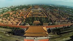 Pechino, drone sulla Città Proibita arrestato l'autore:  ecco il video 'proibito'