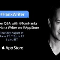 Tom Hanks ha la sua app per scrivere su iPad, boom in classifica