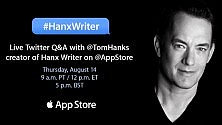 Tom Hanks ha la sua app per scrivere su iPad