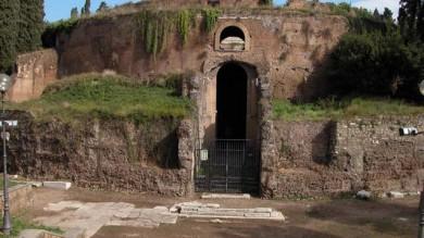 Si allaga il Mausoleo di Augusto a Roma  nel giorno della festa per i 2000 anni