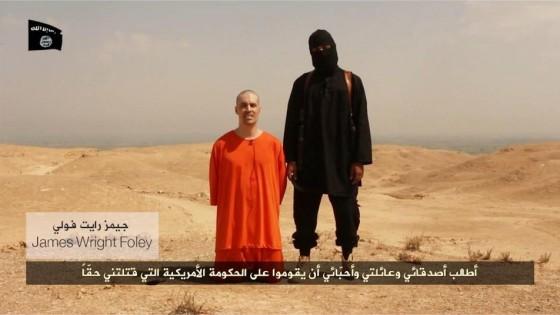 """Giornalista Usa decapitato dagli jihadisti: """"La nostra vendetta contro i raid di Obama in Iraq"""""""
