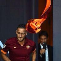 Festa Roma, Garcia fotografa Totti