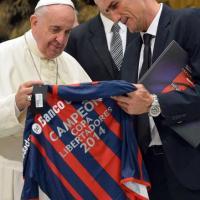 Papa Francesco riceve il San Lorenzo: ''Siete parte della mia identità''