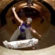 Metrò diventa rampa è tempio skateboard