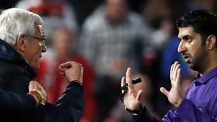 Simulazione, la furia di Lippi    foto    entra in campo e insulta l'arbitro    vd  'Ho avuto l'umiltà di scusarmi'