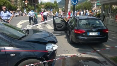 Sparatoria in strada a Pietra Ligure   foto   passante ferito alla schiena dopo rapina