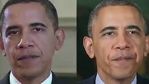 Come invecchia un presidente Obama, cinque anni in timelapse