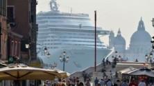 Stop alle grandi navi  nel bacino di San Marco