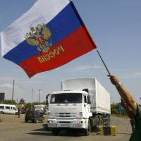 Ucraina, il convoglio russo passa la frontiera