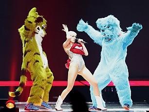 La Repubblica Dominicana vieta Miley Cyrus -   Foto