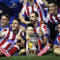Atletico batte il Real e vince la Supercoppa di Spagna / Le immagini