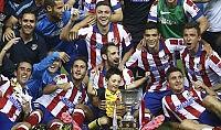 Atletico batte Real 1-0   foto   Scintille tra Ancelotti e Simeone