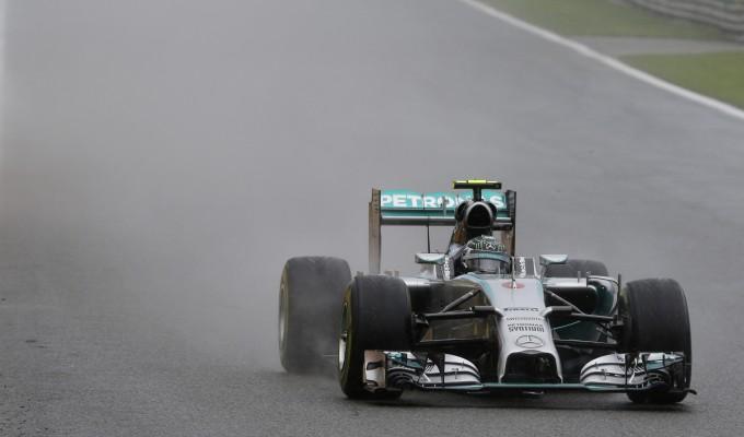 Ancora pole per Rosberg Alonso è quarto   foto