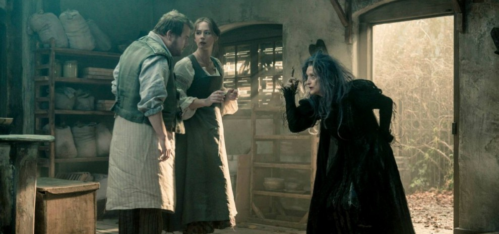 """Into the Woods"", nel bosco con la strega Meryl Streep e il lupo Johnny Depp"
