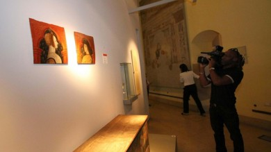 Tre dipinti rubati al Castello Sforzesco   foto