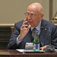 """Napolitano: """"Crisi estere angosciose, serve Ue coesa"""""""