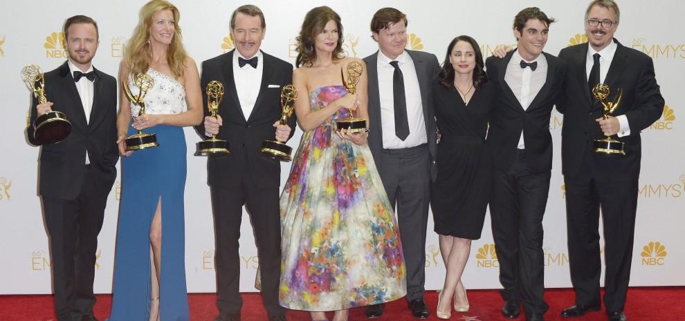 """Emmy, il trionfo di """"Breaking Bad"""""""