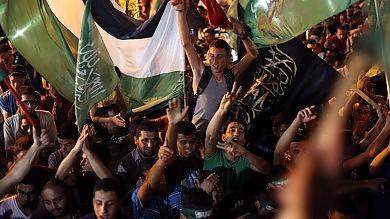 Gaza, notte senza razzi e raid   foto   leader di Hamas riappare in pubblico
