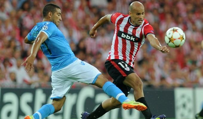 Athletic Bilbao-Napoli  0-1 : segui la diretta