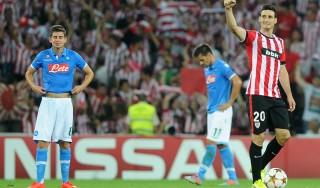 AthleticBilbao-Napoli 3-1: Hamsik non basta, addio Champions