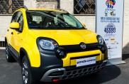 """Fiat Panda Cross protagonista della """"Partita Interreligiosa per la Pace"""""""