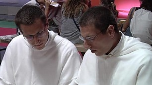 I frati gemelli al meeting di Cl