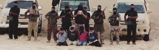 """Egitto, orrore dei jihadisti filo-al Qaeda    foto    """"Quattro decapitati, erano spie del Mossad"""""""
