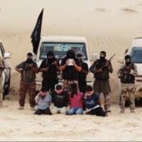 """Egitto, un video mostra quattro decapitati dai jihadisti: """"Erano spie del Mossad"""""""