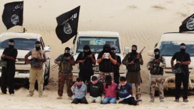 """Egitto, jihadisti filo-al Qaeda   foto     """"Decapitate 4 spie del Mossad""""   Onu: """"Dalla Siria tre milioni di profughi"""""""