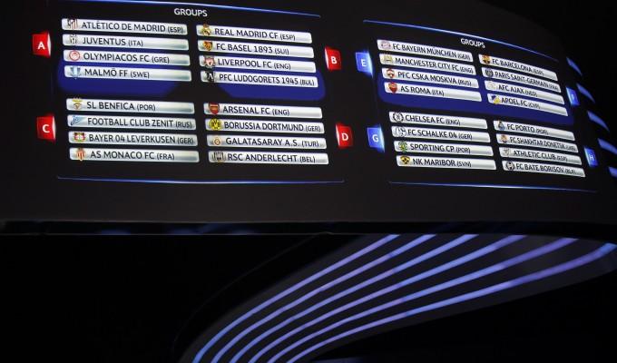 Champions, la Juve pesca l'Atletico Madrid. Bayern e Manchester City per la Roma