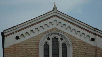 Padova, fulmine danneggia la facciata  della Cappella degli Scrovegni