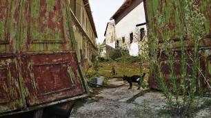 La tenuta di Cavour abbandonata