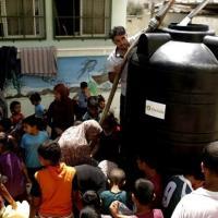 Gaza senza acqua potabile, le foto di Oxfam