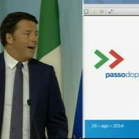 Sblocca Italia, le slide del premier: dalla scuola alle intercettazioni