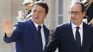 Renzi e il francese, che fatica