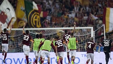 La Roma c'è   Si arrende    foto     la Fiorentina