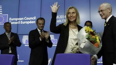 Mogherini nuova lady Pesc   video   Tusk presidente del Consiglio Ue