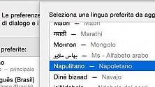 """Yosemite, il nuovo OS Apple """"parla"""" anche napoletano e siciliano"""
