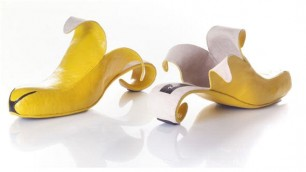 Banane, gelati e spaghetti Le scarpe ispirate al cibo