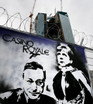 """Telefonata di Merkel a Draghi:<br />""""Sull'austerità ci hai ripensato?"""""""