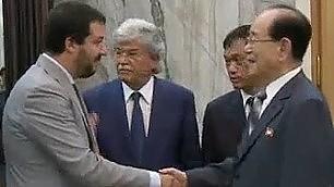 Razzi e Salvini in Corea del Nord una missione per due
