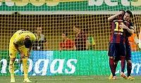 Il Barcellona passa a Villareal Crollo Real a San Sebastian