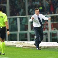 Inter, Mazzarri attacca l'arbitro: ''Clamoroso abbaglio su Vidic''