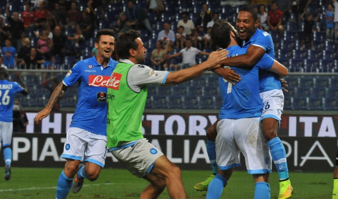 C'è anche il Napoli   I gol   De Guzman beffa il Genoa   ft