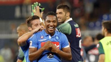 Il Napoli vince   al 95'     Tutti i gol      Milan,Festa   Inzaghi   foto    Lazio ko   foto       Inter solo un pari