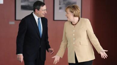 """Flessibilità, la Merkel telefona a Draghi la cancelliera seccata: """"E l'austerità?"""""""