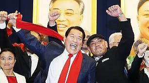 Wrestling spettacolo a Pyongyang con il mito anni 80 Antonio Inoki