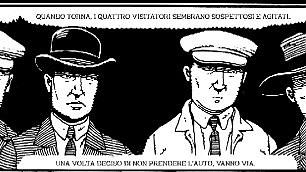 Le vite di Sacco e Vanzetti il fumetto è come Csi   Foto