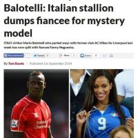Lo scoop dei tabloid inglesi: Balotelli ha mollato Fanny